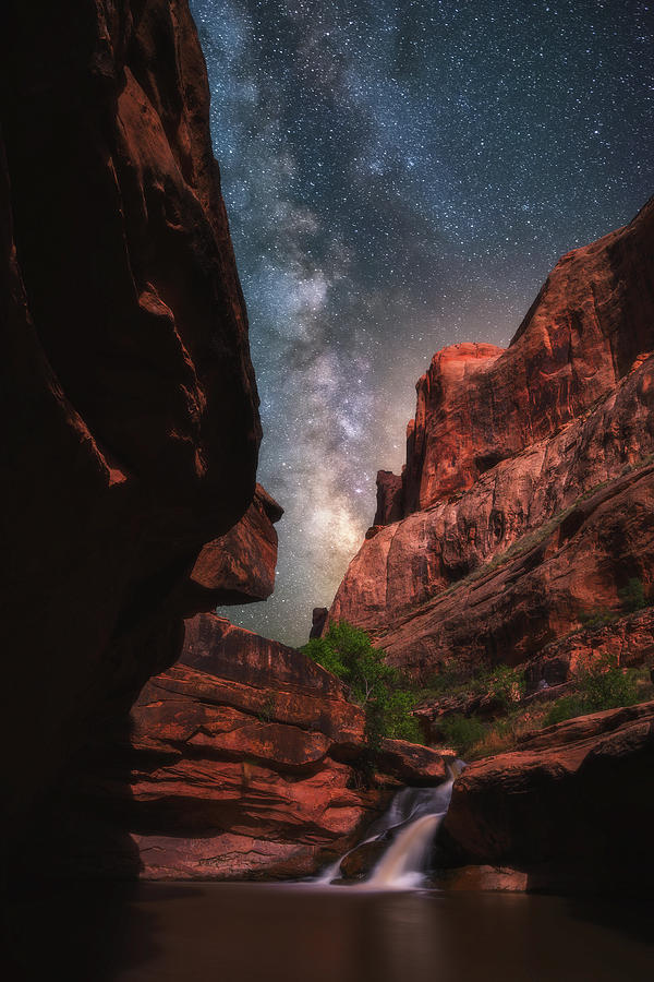 Mill Creek Milky Way Photograph