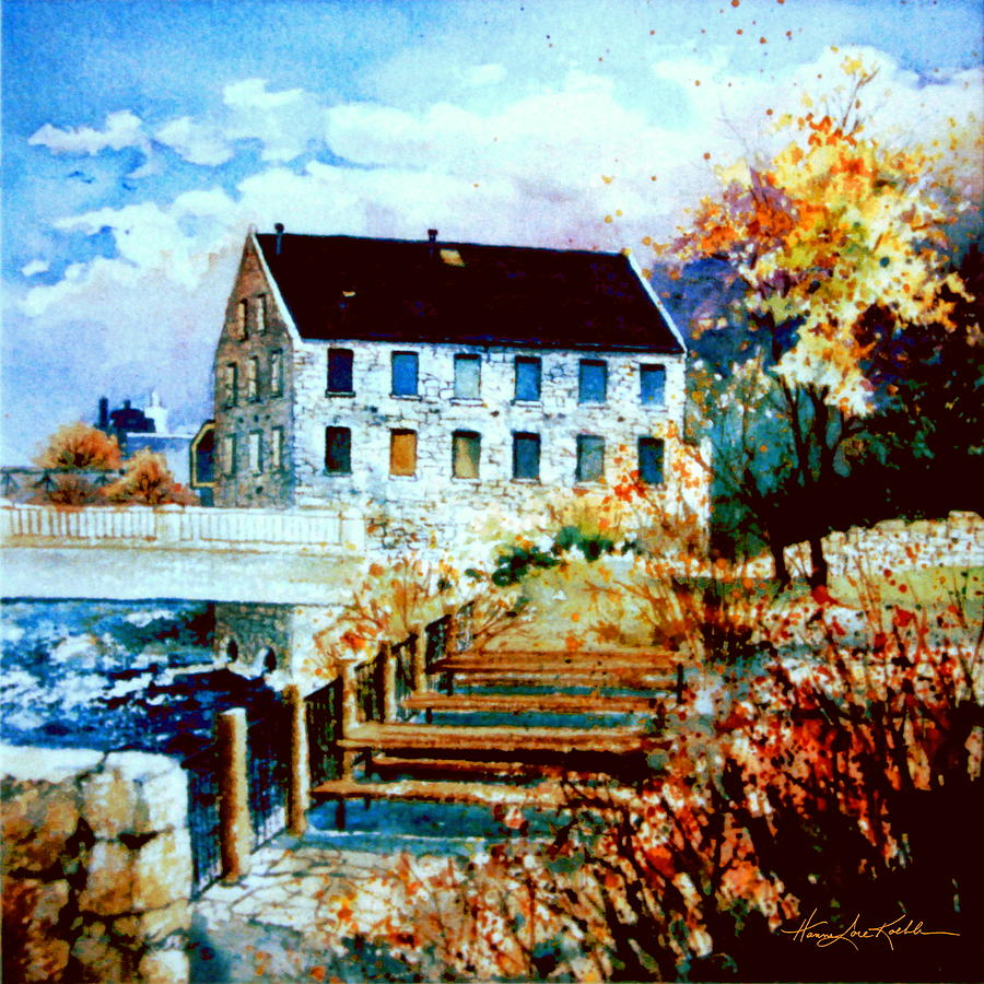Mill Race Park Painting