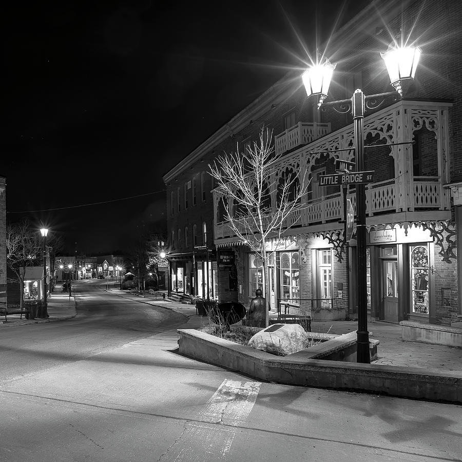 Mill Street at Little Bridge Street - Almonte, Ontario by Rick Shea