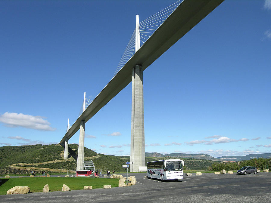 Millau Viaduct by Jim Mathis