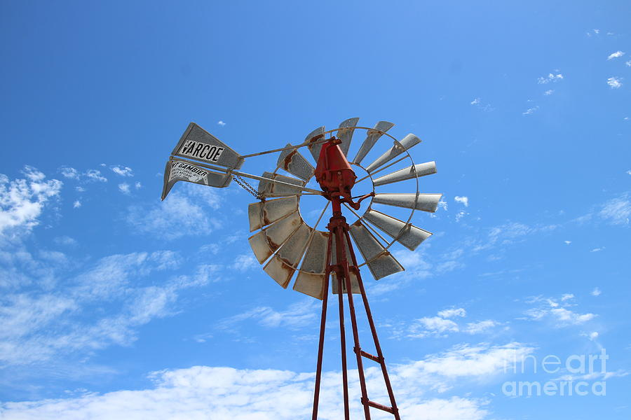 Windmill Photograph - Milled Wind by Stephen Mitchell