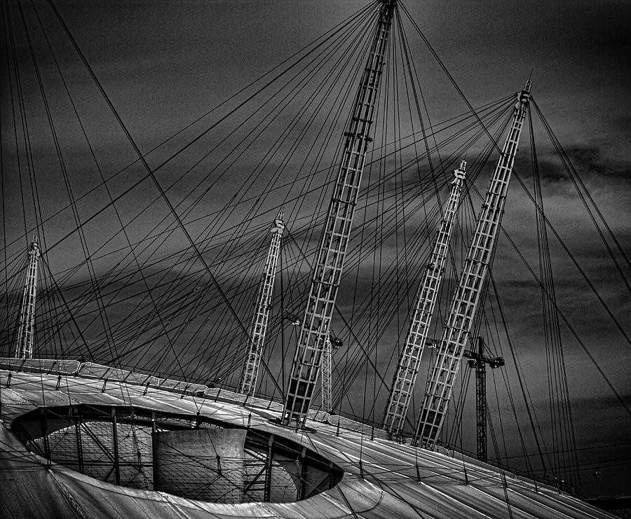 London Photograph - Millenium Dome by Martin Newman