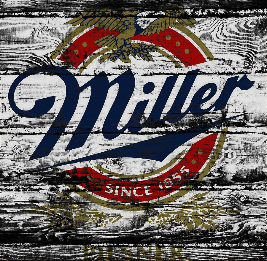 Miller Photograph - Miller Beer 5b by Brian Reaves