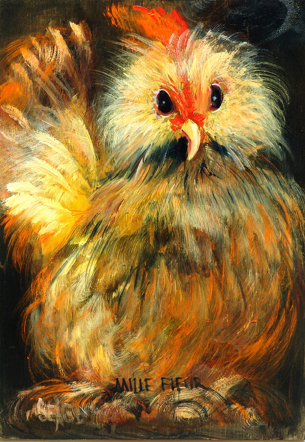 Barnyard Animals Painting - Millie by Sally Seago
