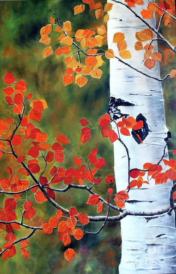 Million Aspen Leaves II by Anna-maria Dickinson