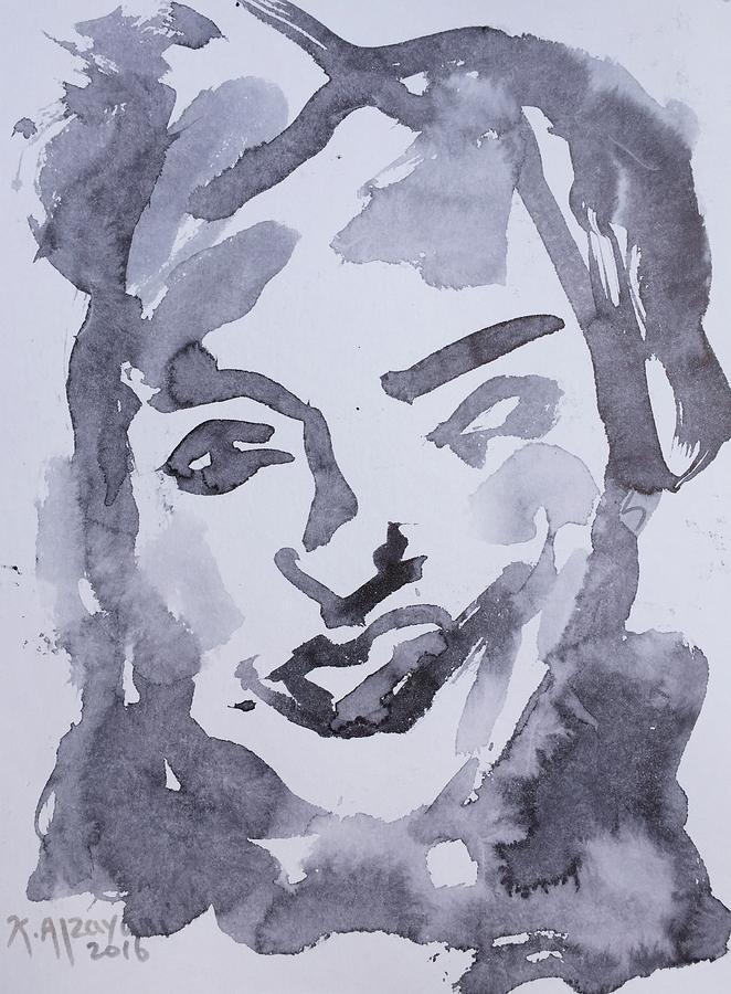 Impressionism Painting - Milo Iv by Khalid Alzayani