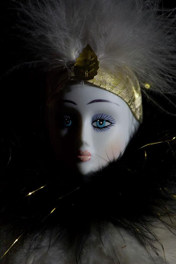 Mime Photograph - Mime by Deborah Reinhardt - Adams