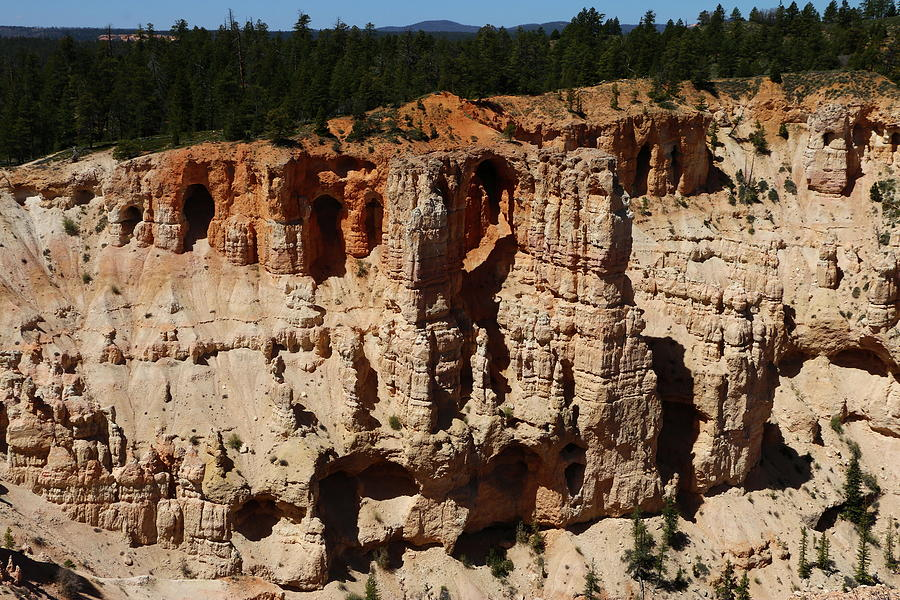 Canyon Photograph - Mind Blowing Bryce Canyon View by Christiane Schulze Art And Photography