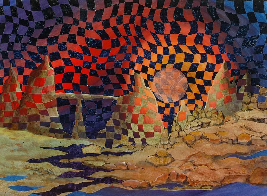 Landscape Painting - Mindscape by Linda L Doucette