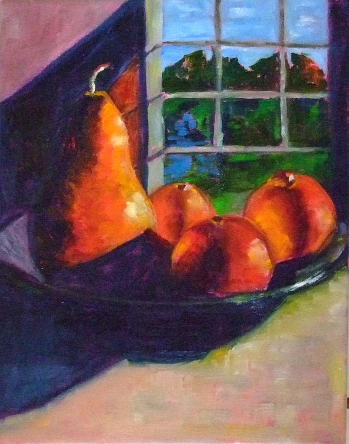 Fruit Painting - Mineolas by Glynis Berger