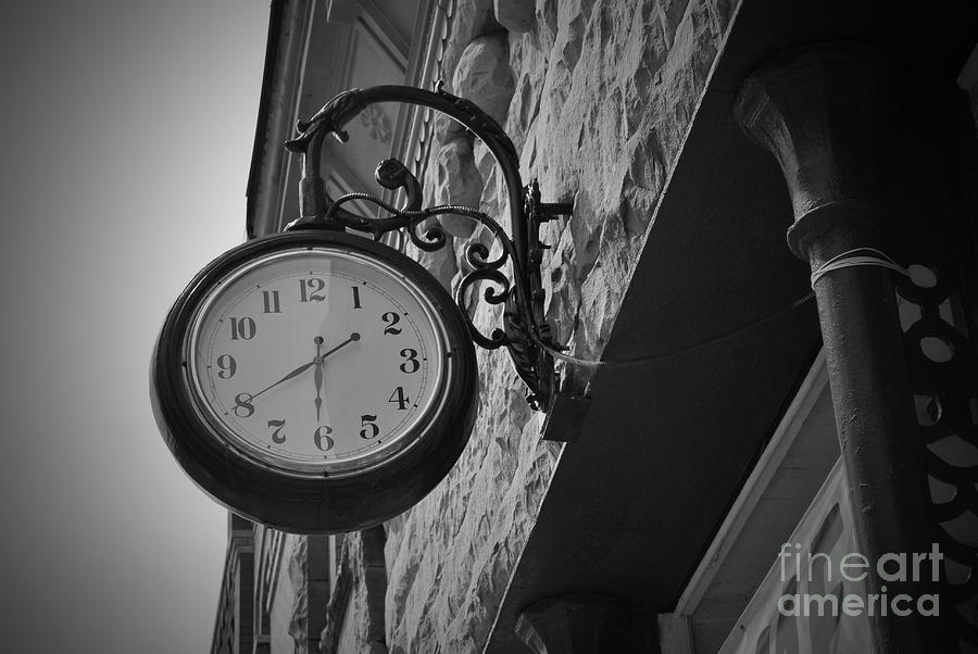 Texas Photograph - Mineral Wells Texas Time by Jost Houk