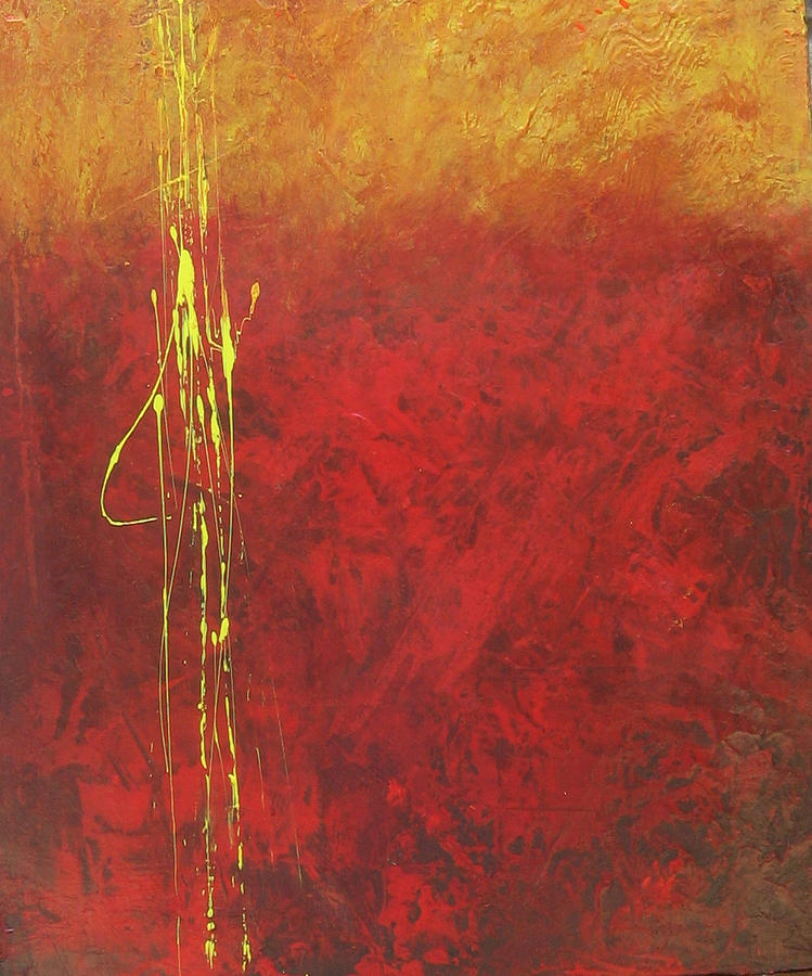 Painting Painting - Miners Gold by Carrie Allbritton