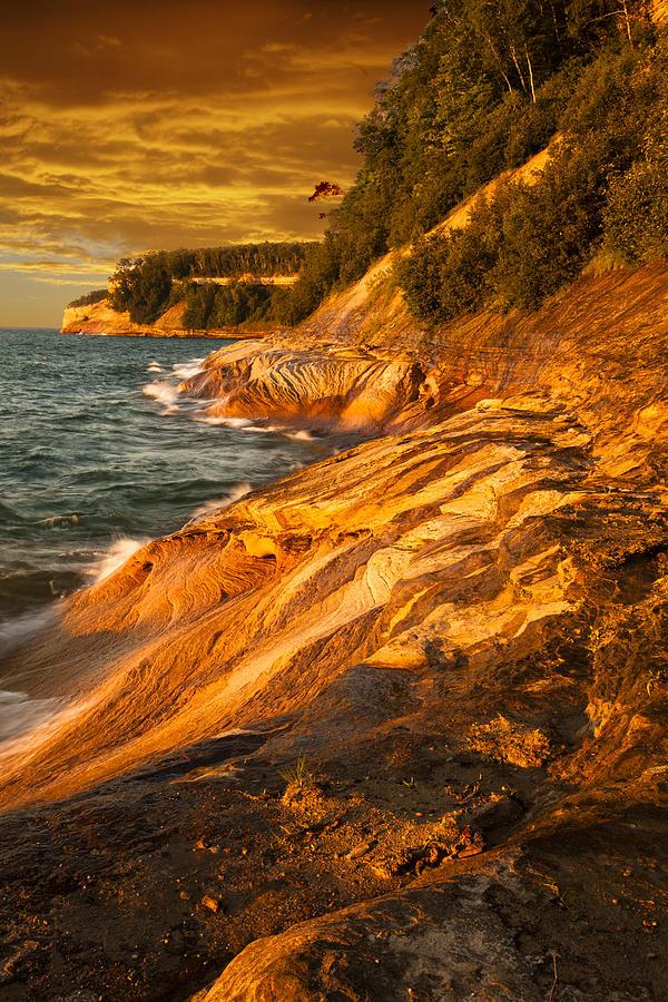 Michigan Photograph - Miners Point by Matt Cohen