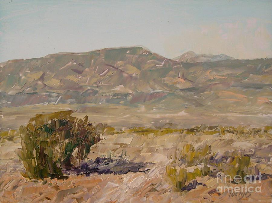 Mingus Mountain Arizona by James H Toenjes