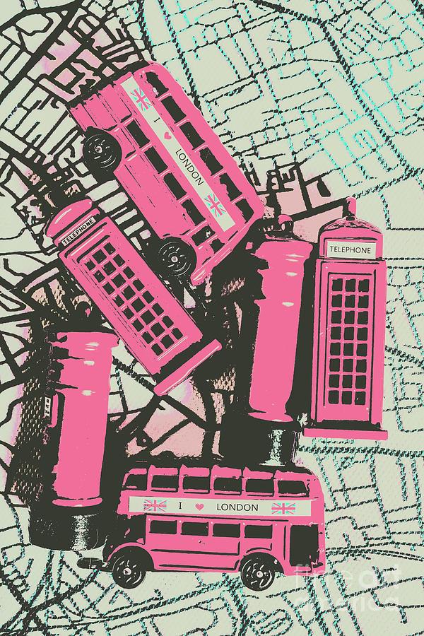 England Photograph - Miniature London Town by Jorgo Photography - Wall Art Gallery