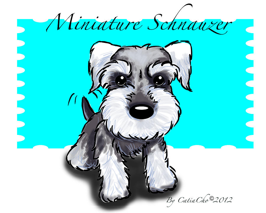 Schnauzer Drawing Easy
