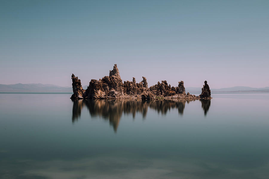 Minimal Mono Lake by Lee Harland