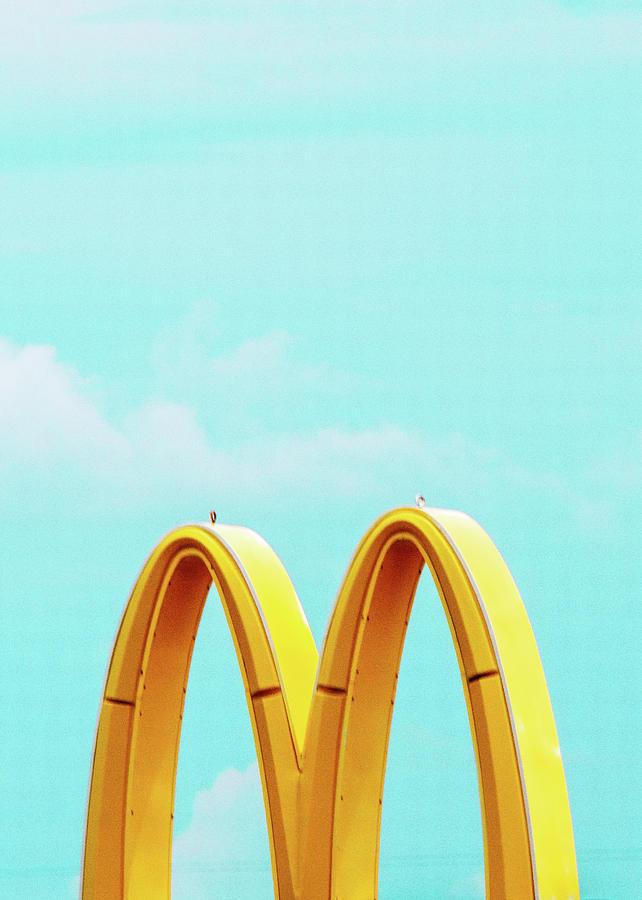 Minimal Photograph - Minimalistic Mcdonalds by Dylan Murphy