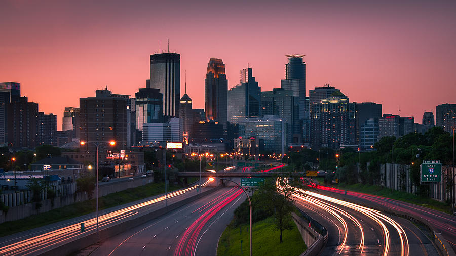 City Photograph - Minneapolis In Motion by Josh Eral