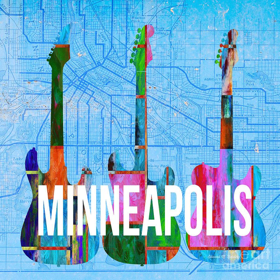 Minneapolis Painters: Minneapolis Music Scene Painting By Edward Fielding