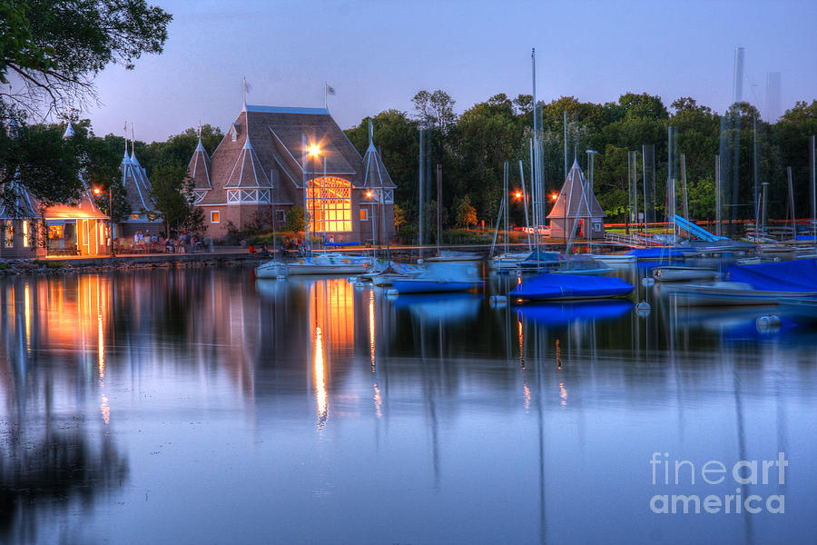 Dock Of The Bay Photograph - Minneapolis Skyline Photography by Wayne Moran