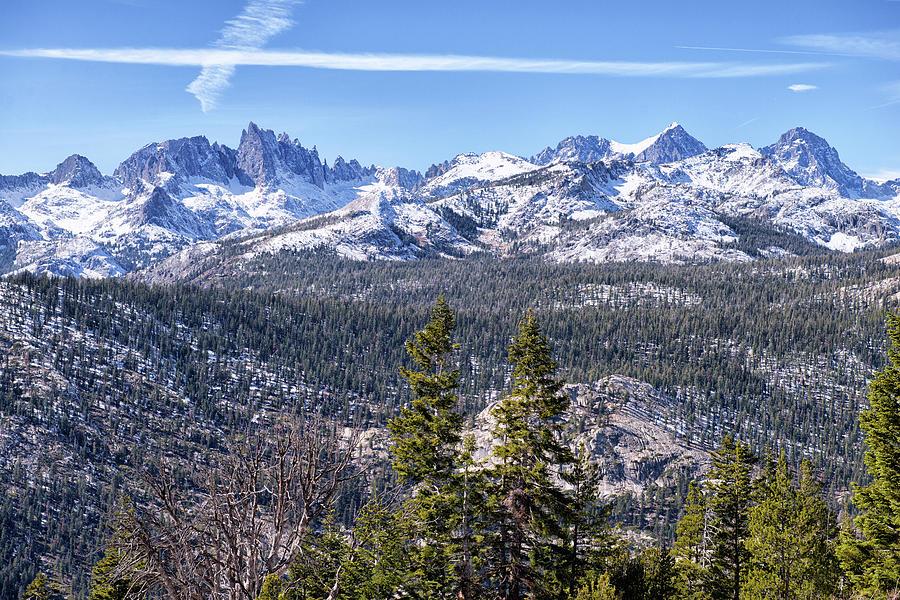 Minneret Vista - Mammoth - California Photograph