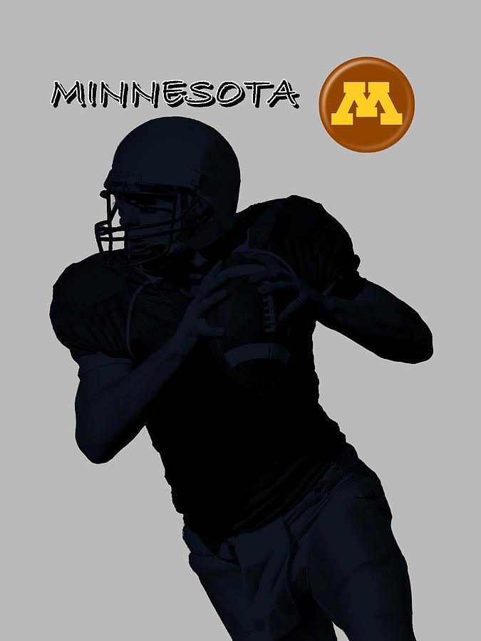 Minnesota Football Digital Art by David Dehner