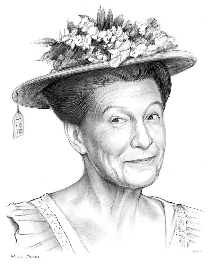 Minnie Pearl Drawing