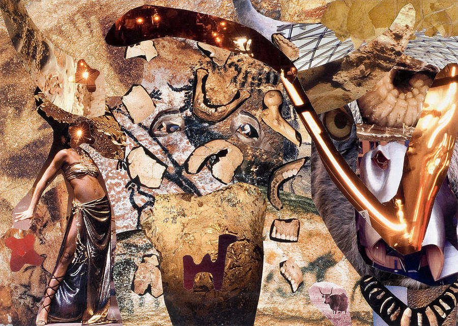 Camel Mixed Media - Minotauros by Christoph Fuhrken