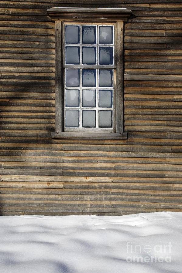 Window Photograph - Minute Man National Historical Park In Lincoln Massachusetts Usa by Erin Paul Donovan