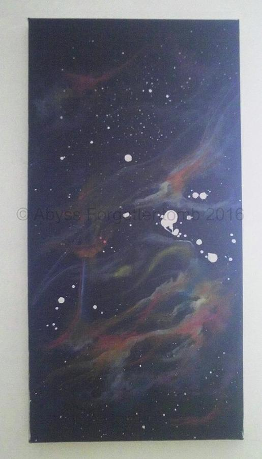 Mira Ceti Painting By Michele Malavasi