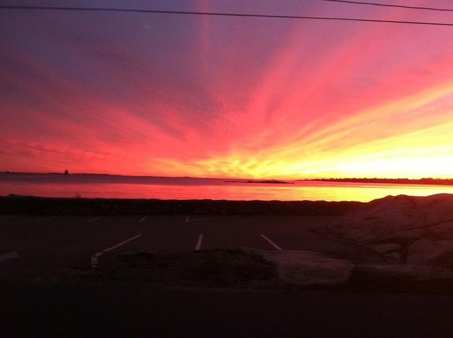 Miracle Sunset Photograph by Colleen Shay