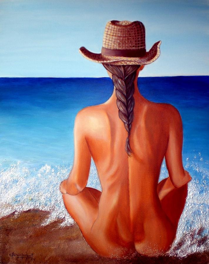 Pintura Painting - Mirada Al Horizonte by Carmen Junyent