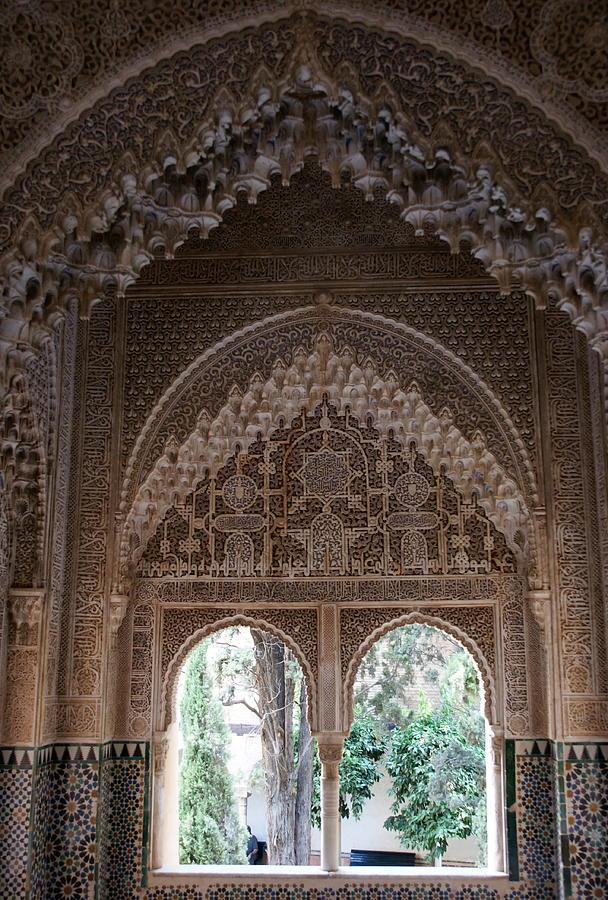 Alhambra Photograph - Mirador De Daraxa by Olaf Christian