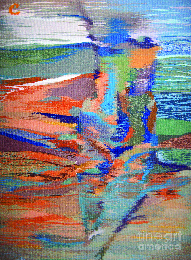 Tapestry Tapestry - Textile - Mirage by Olena Sydoruk