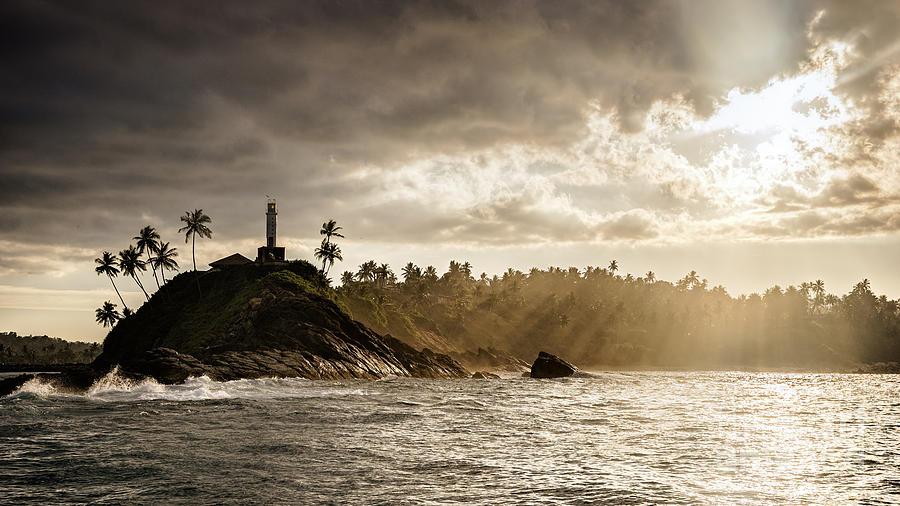 Mirissa Lighthouse Sri Lanka Photograph