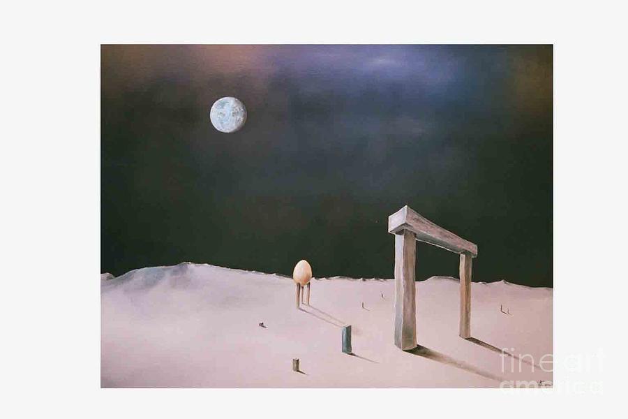 Paintings Painting - Miroart3 by Jan Hmiro