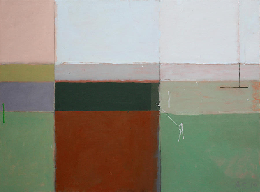 Abstract Painting - Mirror by Andrew Crane