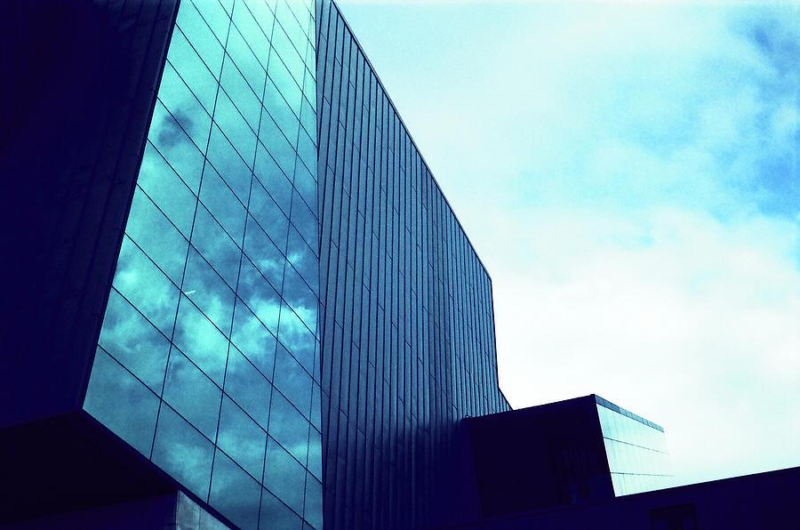 Mirror Photograph - Mirror building 1 by Nacho Vega