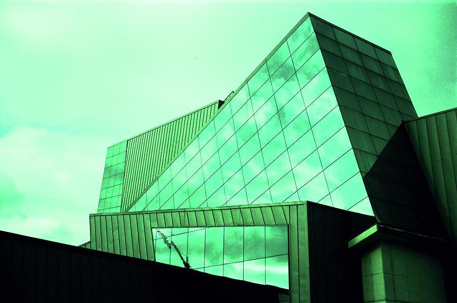 Mirror Photograph - Mirror Building 3 by Nacho Vega