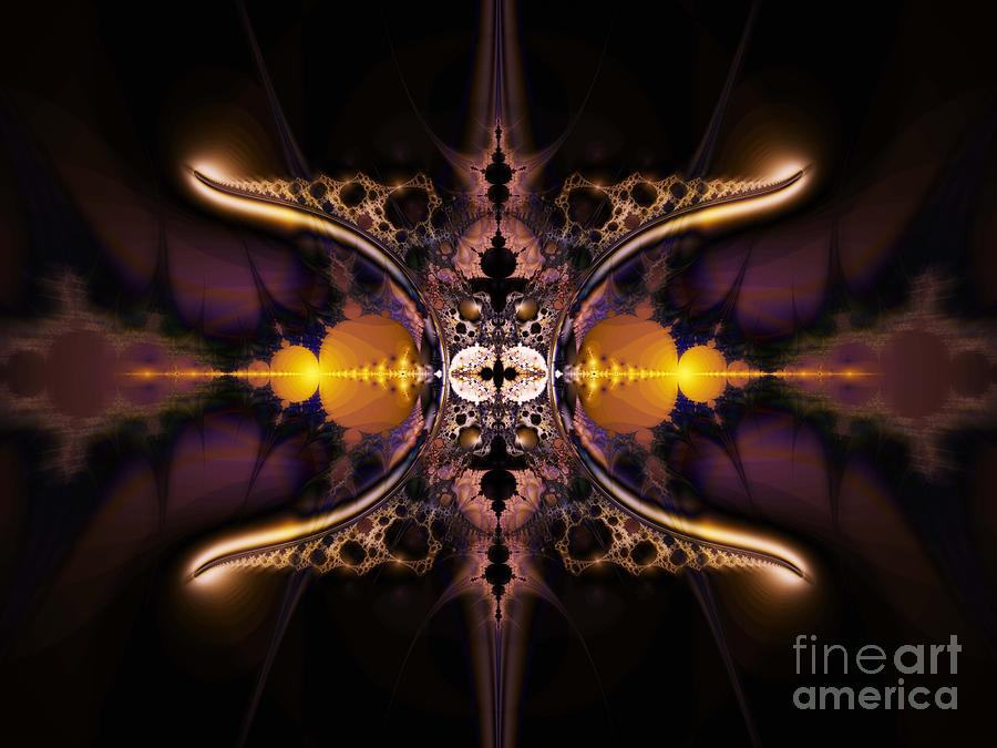 Mirror Gateway / Holga Effect Digital Art by Elizabeth McTaggart