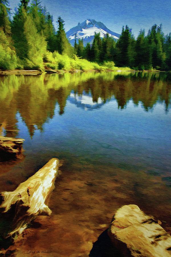 Mirror Lake - Mount Hood by Jeffrey Kolker