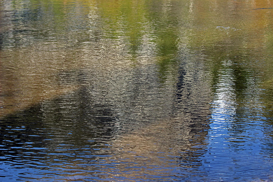 Yosemite Photograph - Mirror Lake Reflections 04 13 by Walter Fahmy