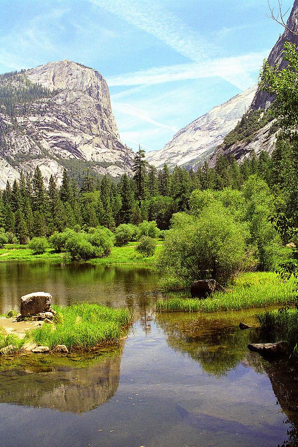 Yosemite National Park Photograph - Mirror Lake Yosemite by Alan Lenk