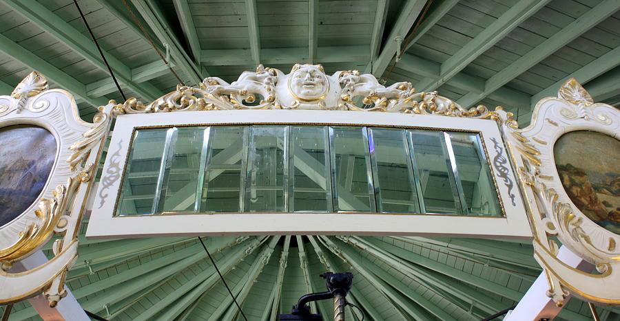 Carousel Photograph - Mirror Mirror by Anne Babineau