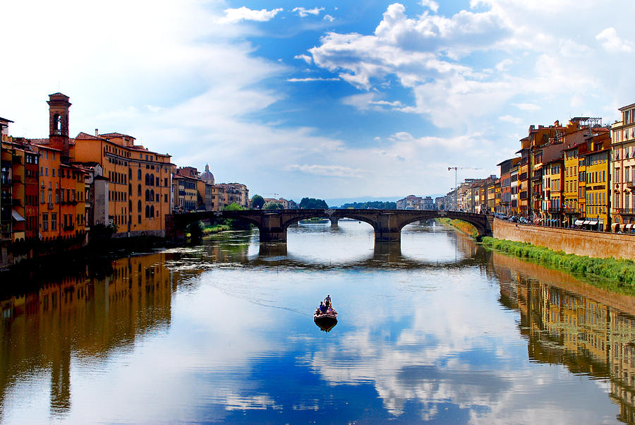 Florence Photograph - Mirror Mirror by Sarah Jean Sylvester