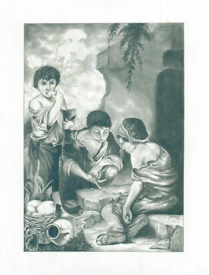 God Drawing - Mischief by Julian  B