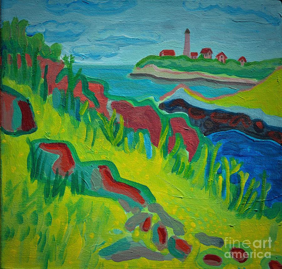 Misery Island Painting - Misery Island by Debra Bretton Robinson