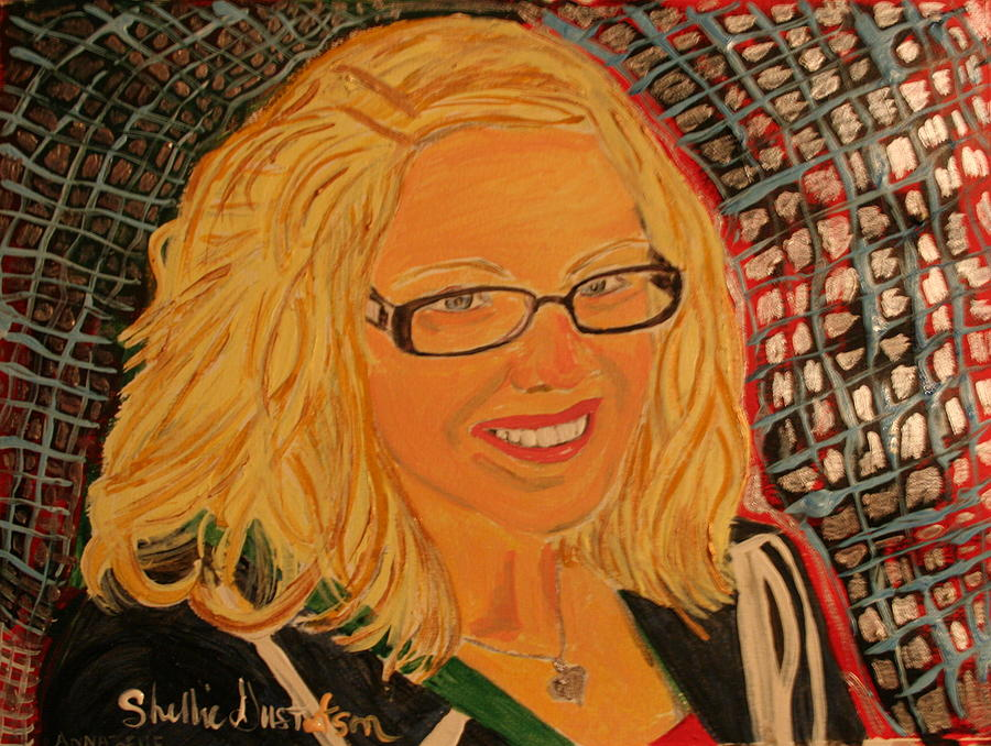 Miss Annabelle Painting by Shellie Gustafson