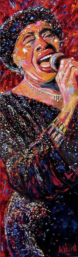 Blues Singer Painting - Miss Lavelle White by Debra Hurd